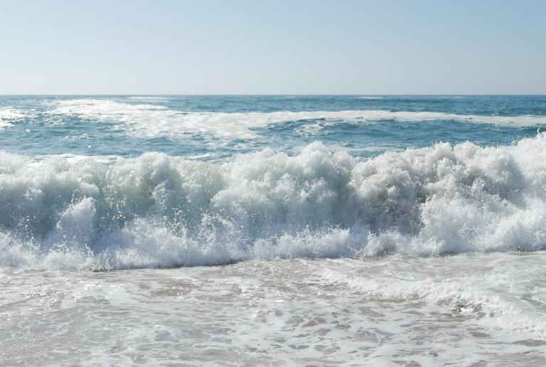 Das Meer in Portugal